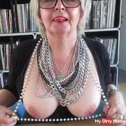 My horny mature tits