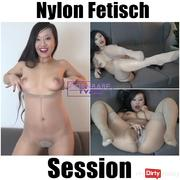 Nylon Fetish Session