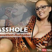 Dirty Asshole - The slavish rosettes task!