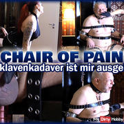CHAIR OF PAIN - Your slave carcass is at my mercy!