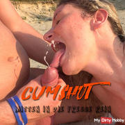 CUMshot - In the middle of the face