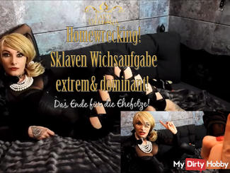 Homewrecking slave task EXTREME! The end of your marriage!   by Lady_Demona
