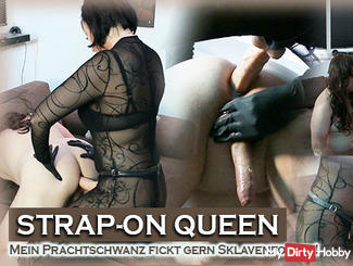 STRAP-ON QUEEN! My Prachtschwanz fucks like slave pussies!