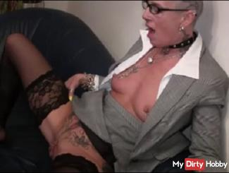 fuck in the waiting room with AO mega squirt