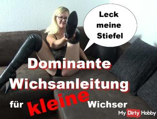 Dominic Wichsanleitung for small wanker
