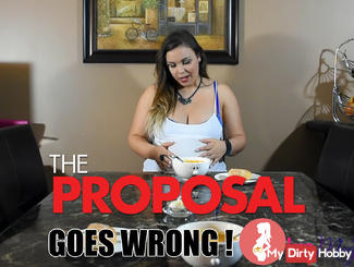 The Proposal goes wrong - Pregnant, I swallowed 2 rings!