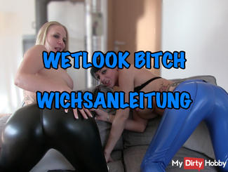 Wichsanleitung - spray on our Wetlook Butts
