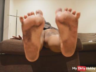 Lick My Dirty Feet.