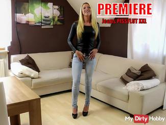 Premiere! Mein 1. Jeans-Piss!
