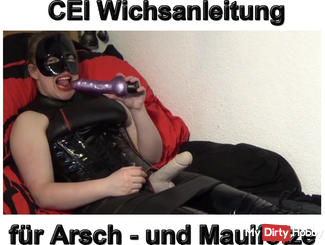 CEI Wichsanleitung for your ass and Maulfotze!