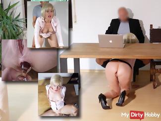 3-hole secretary BRUTAL ZERFICKT !!!