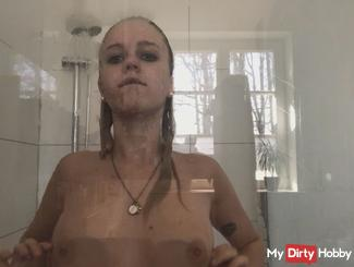 I in the shower