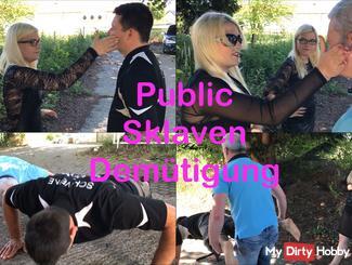 Public slavery of humiliation!