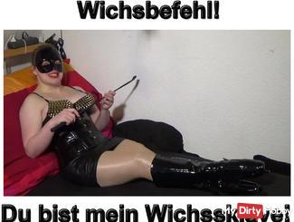 Wichsanleitung YOU are my Wichssklave!