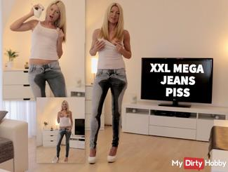 Der XXL MEGA Jeanspiss!