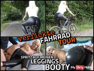 Fucked BIKE TOUR | Splash on my LEGGINGS BOOTY