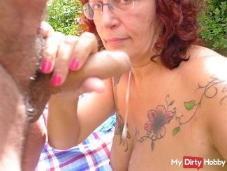 Open-air cosmetics for my skin with horny men's cream