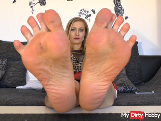 Delicious feet for you