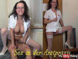 Horny nurse - Sex in practice