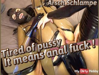 Bimborella bored of pussy -> ANAL FUCK