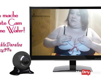 Look me live to you is the next in the webcam.