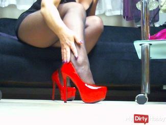 My new red Mega Heels