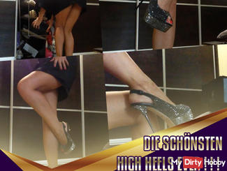 The most beautiful high heels ever! ! !