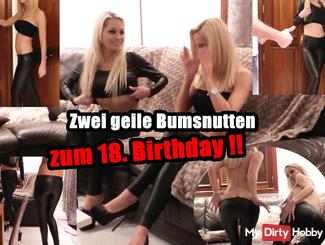 THE 18th BIRTHDAY: 2 NASTY BUMSNUTTEN