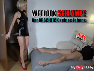 WETLOOK-BITCH! The ass fuck of his life