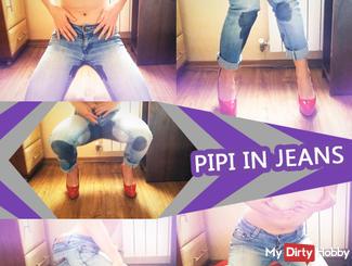 Pee in jeans..