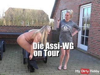 Assi-WG on Tour – pi**-Schlampen