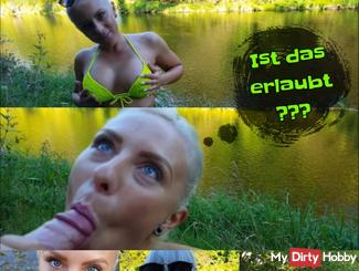 Caught by Userfan in the park! ?? SPRING Fick in the river !!!