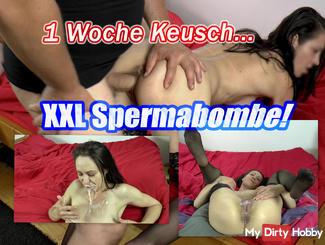 1 week chase XXL Spermabombe !!
