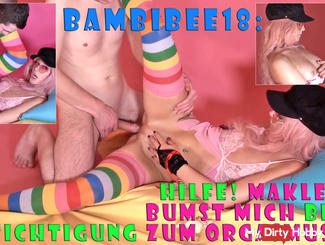 BambiBee18: Brokers fucking me during a visit to orgasm!