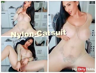 Nylon-Catsuit
