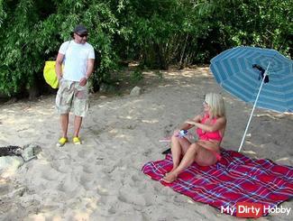 Notgeil: Spontan am Strand gefi**t!!