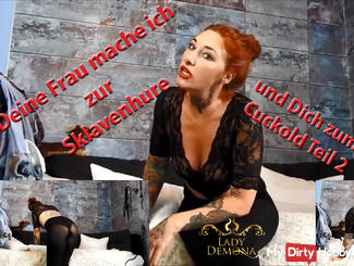 Your wife I make to the slave girl and you to Cuckold part 2