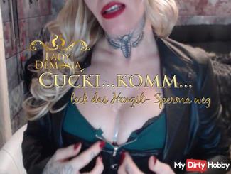 Cucki! Komm leak the Fick- stallion semen away! Yummy | by Lady_Demona