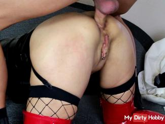 Ass doggy Fucked in closeup