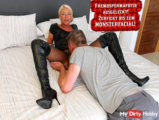 licked Spermafotze and Fucked! XXL Facial