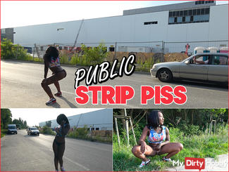Public Strip Piss