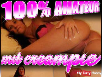 100% amateur | with creampie