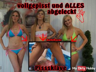 Pissslaven vollgepisst and EVERYTHING licked