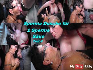 2 Cum Swallows are filled in sex movies