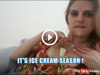 It's ice cream season !