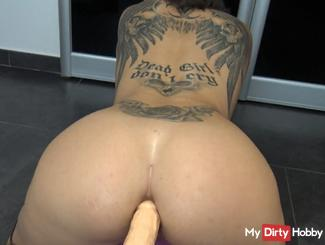 Anal Fuck Machine and Squirt 2