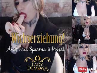 Wich education! Anal, cum and pee swallow !!! | by Lady_Demona