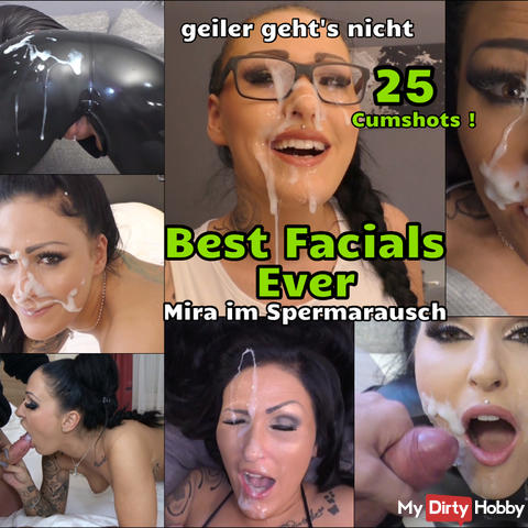 Mira im Spermarausch - Best Facials ever!