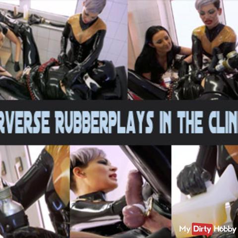 Pervese Rubberplays in der Klinik 1