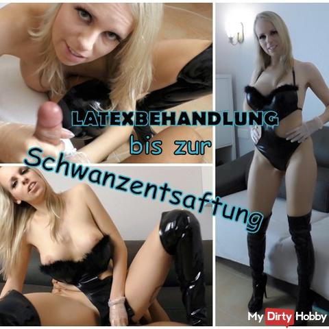 Latex treatment to Schwanzantaftung (dirty)!